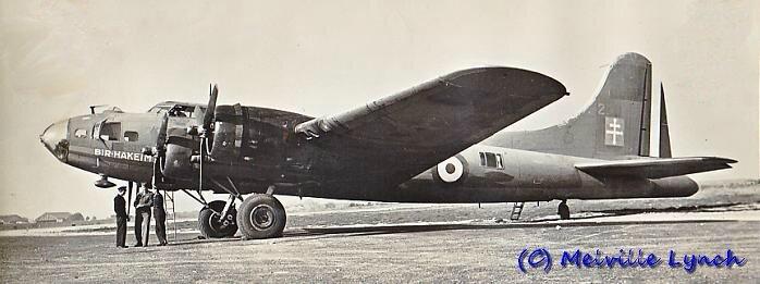 Bir Hackeim dans ses premières années dans l'armée de l'air