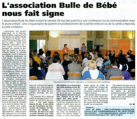 article PDM 10 juin 2011