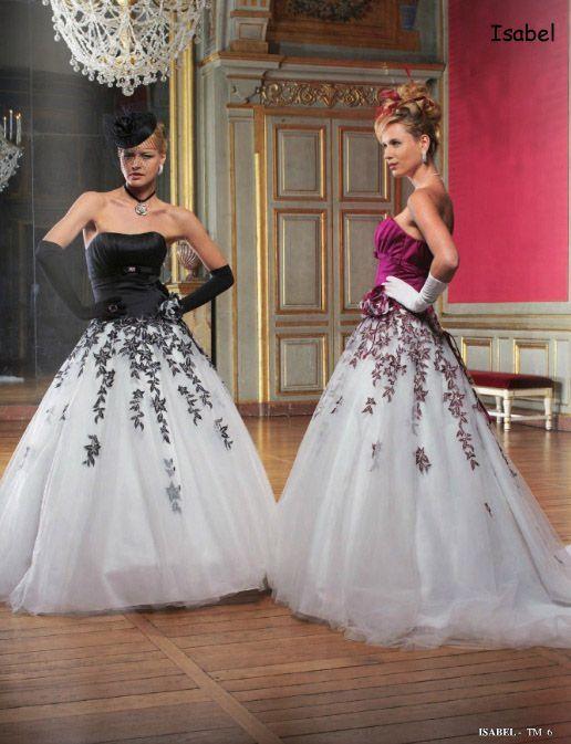 robe de mariee blanche et parme la mode des robes de france. Black Bedroom Furniture Sets. Home Design Ideas