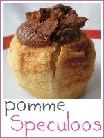 pomme au four au speculoos - index
