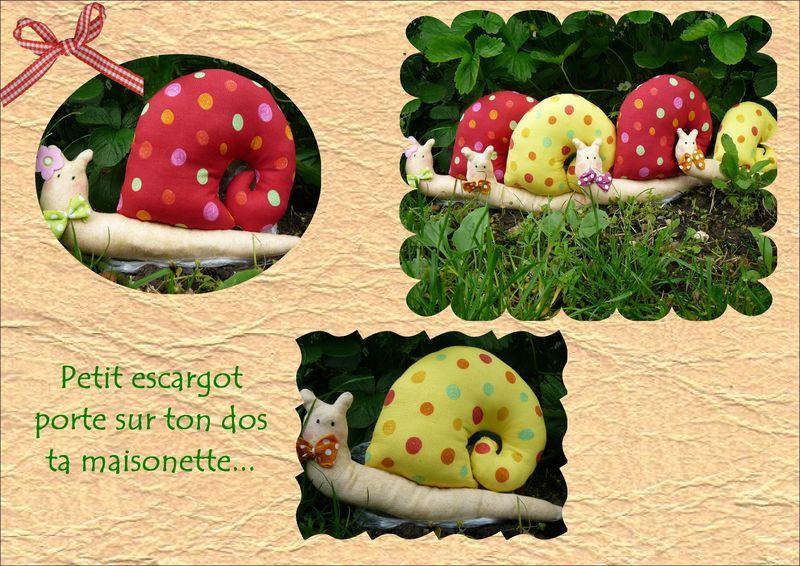 Petit escargot porte sur ton dos ta maisonette - Parole petit escargot porte sur son dos ...