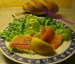 assiette saumon