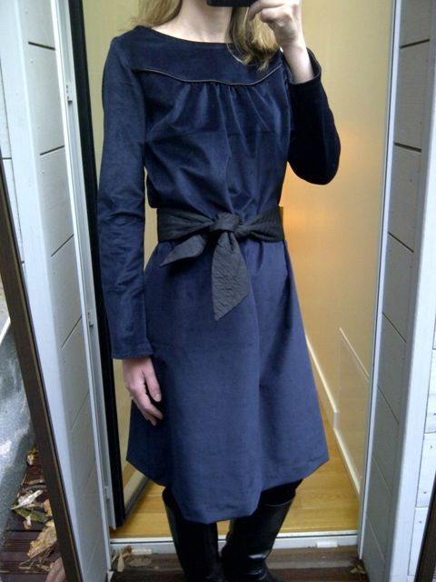 Bleu nuit Dress (1)