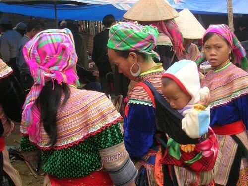 Vietnam marché de Bac Ha 22