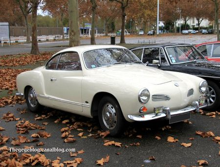 Vw karmann ghia 1500 coupé (Retrorencard decembre 2011) 01