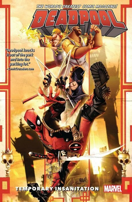 deadpool world's greatest vol 4 temporary insanitation TP