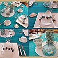 table coquillages