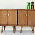 Petit mobilier ... anciens chevets * edith & marcel