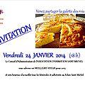 «galette des bénévoles» 2014 (24 janvier)