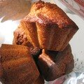 Muffins du ptipincedej (vanille noisette)