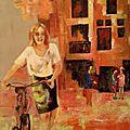 Juliette et son vélo