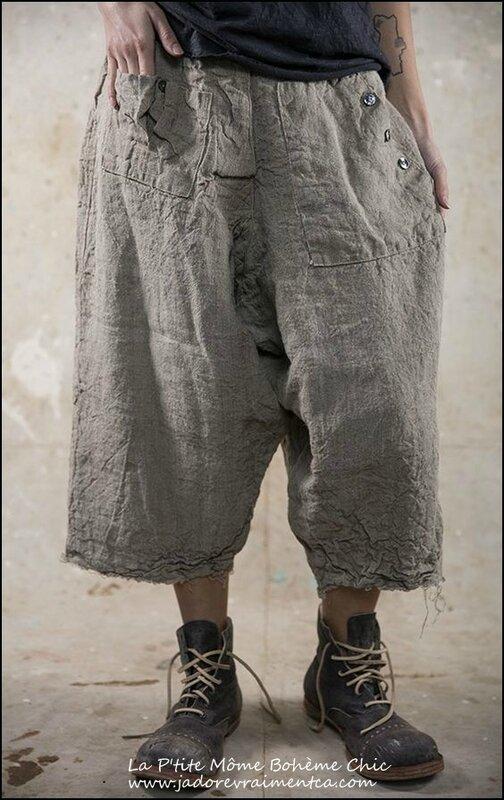 Bergitte Pants 029-Flax