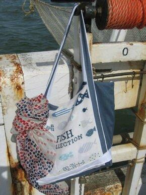 sac de plage broderie