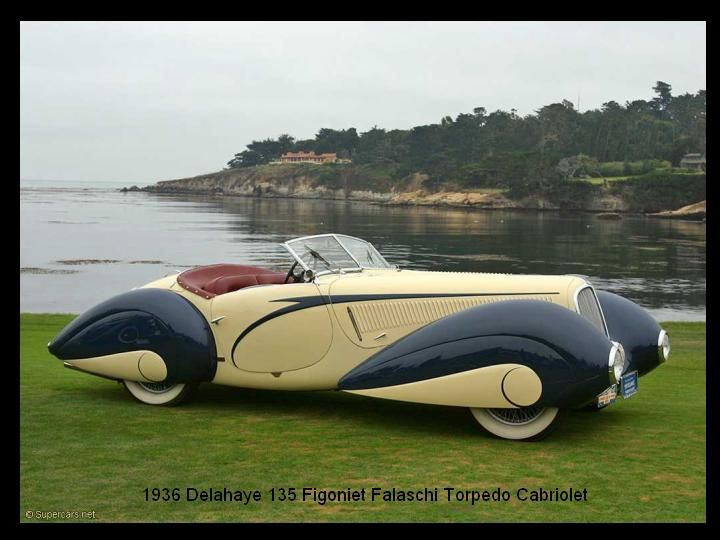 1936 - delahaye 135 Competition Court Figoniet Falaschi Coupe - 6