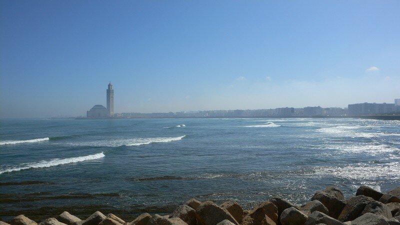 Vue Panoramique Corniche Casablanca