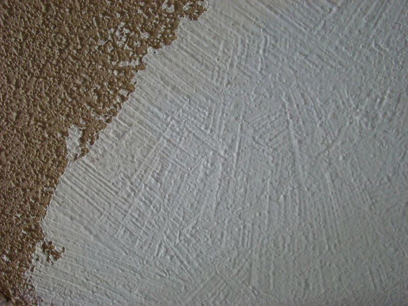 Un vilain petit vice de construction zon tel un soleil for Plafond en stucco