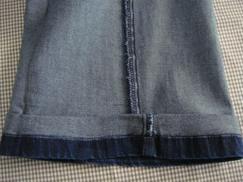 Septembre 2015 jupe souris et blablabla un petit - Comment faire un ourlet de jean ...
