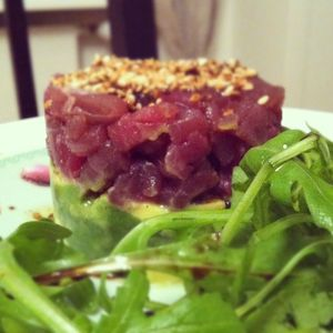 tartare thon avocat
