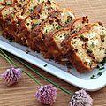 Cake feta / tomates séchées