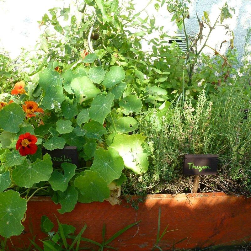 etiquette jardin a