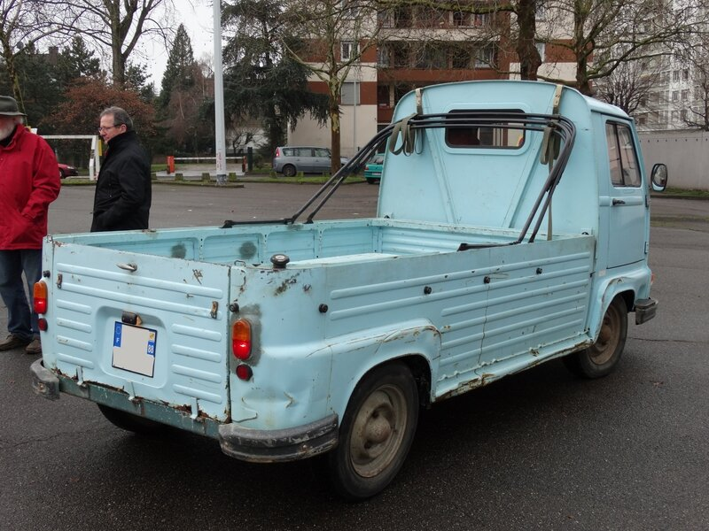 RENAULT Estafette pick-up Strasbourg (2)