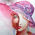 Aquarelles : Portraits