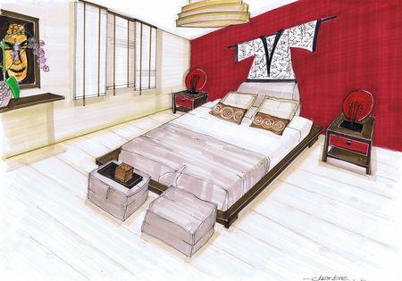 Plan de maison3 chambre a etage submited images - Plan d une chambre ...