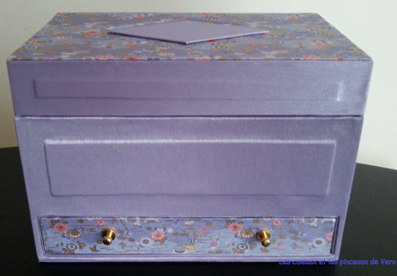 la boite vernis les ciseaux et les pinceaux de v ro. Black Bedroom Furniture Sets. Home Design Ideas