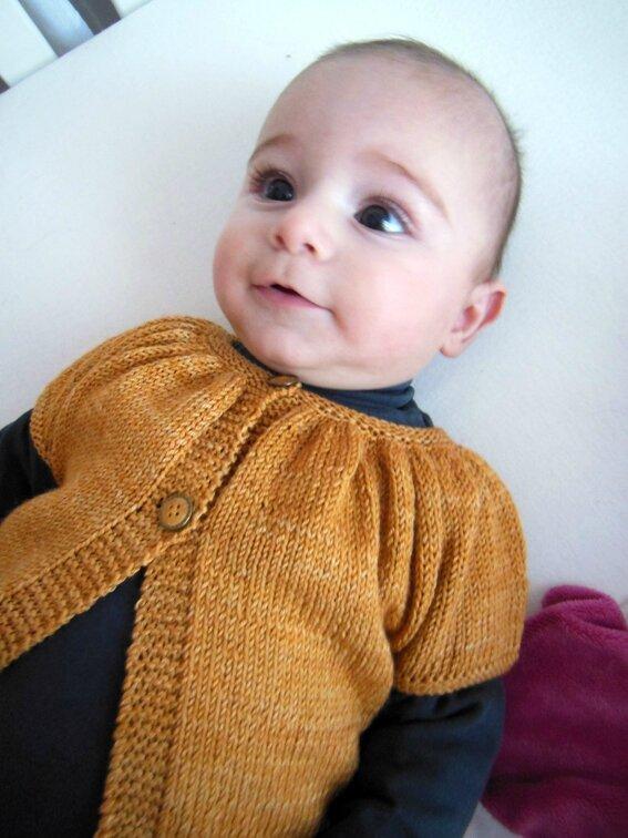Baby Kina en Graine de laine 1-8