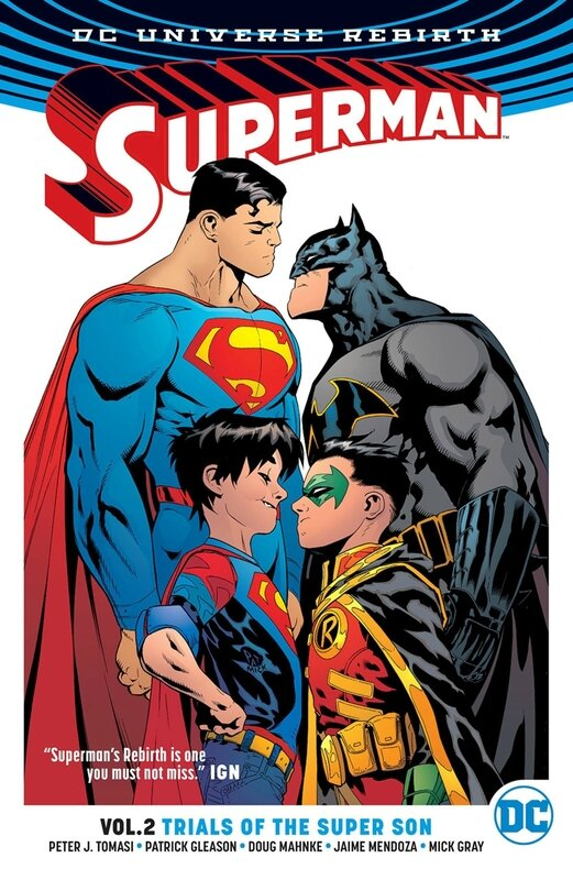 rebirth superman vol 02 trials of the super son TP