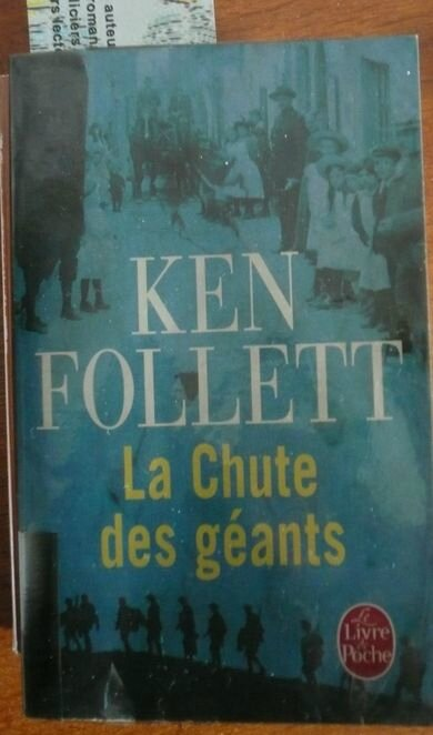 La chute des géants Ken Follett