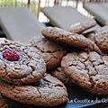Cookies tout chocolat et ultra fondant!