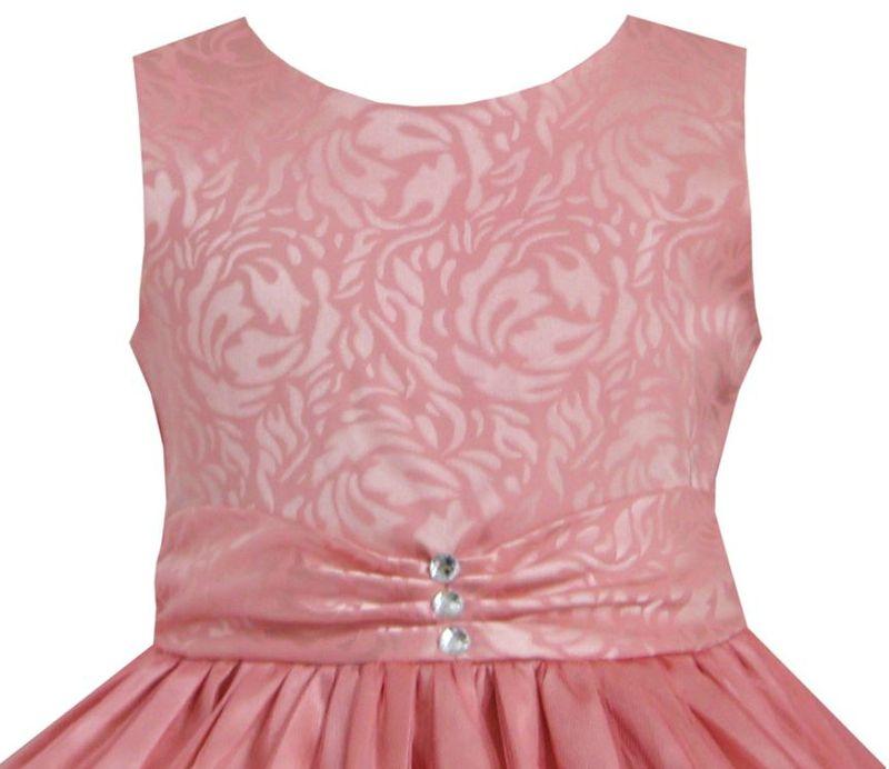 robe fille corail couleur saumon t 11 12 ans r f rf corail perle des pyr n es. Black Bedroom Furniture Sets. Home Design Ideas