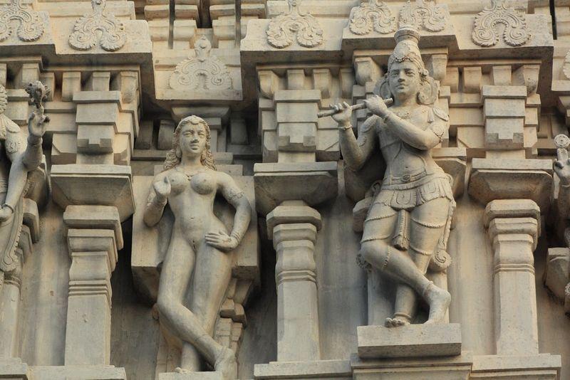 Autres sculptures du temple de Thiruvannamalai