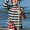 Marinière pour petit matelot!