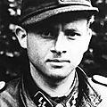 Ss-hauptsturmführer michael wittmann. schwere ss-panzer abteilung 101 / 1ere ss-panzerdivision leibstandarte adolf hitler.