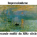Titre impressionisme