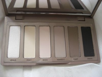 Palette naked basics d'Urban Decay princesse affreuse(4)