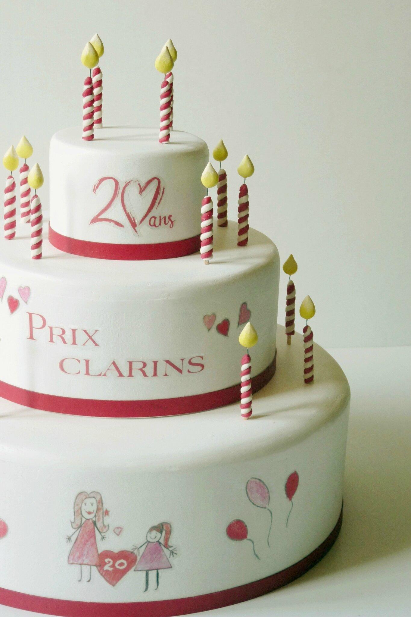 Gâteau Prix Clarins