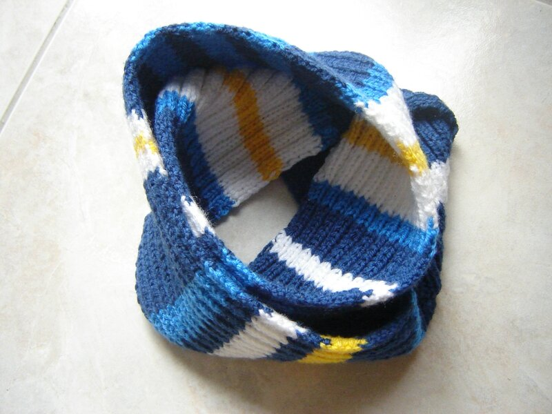 Snood marin(5)