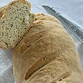 Baguette aux graines de pavot