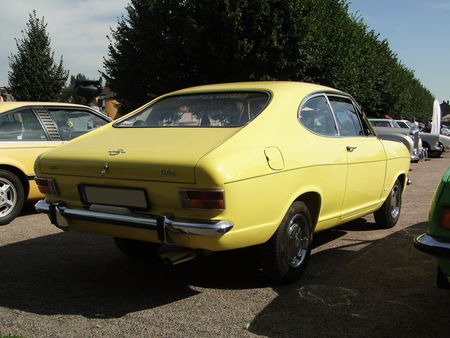 OPEL Kadett B Coupe 1965 1973 Rohan Locomotion de Saverne 2010 2