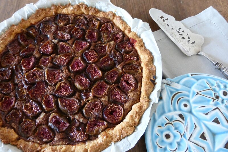 tarte figue praliné thierry mulhaupt