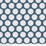 Riley blake Superstar blue large dots