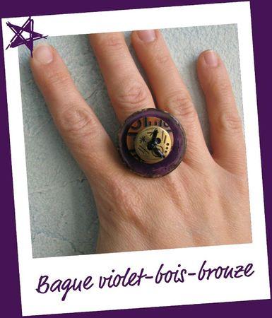 Bague violette 1