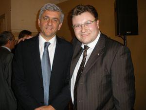 RH avec Hervé Morin Ministre de la Défense