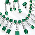 Emerald and diamond parure, de grisogono