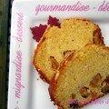 Cake aux pates de fruits pour le gouter