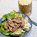 Salade de boeuf thaï de la simply you box