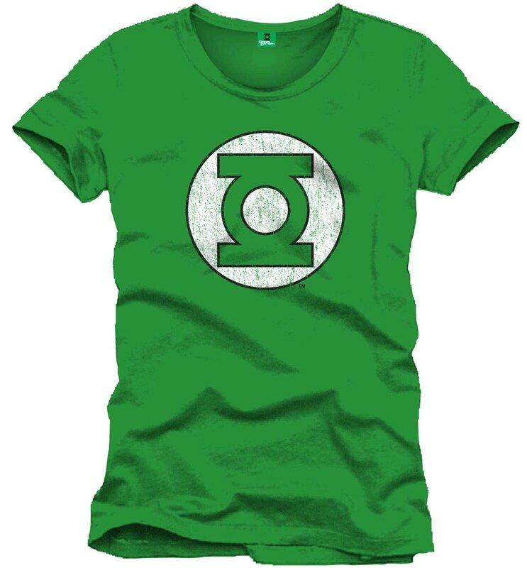 t-shirt green lantern logo